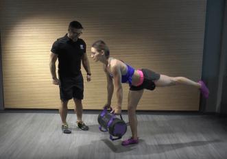 Video: come fare correttamente i Single leg dead lift