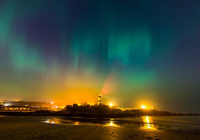 Luci nel cielo a Inishowen (Credits: wildatlanticway.com)