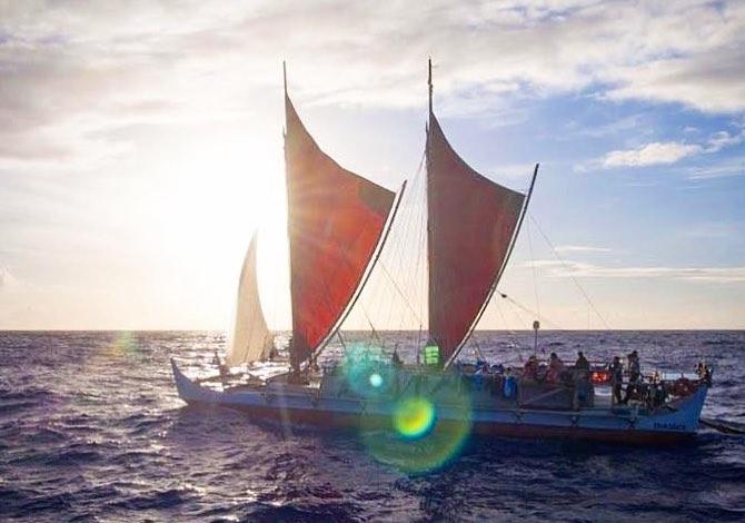 Il viaggio della Hokulea - foto polynesian voyaging society