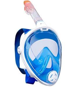 AquaSphere maschera facciale snorkeling