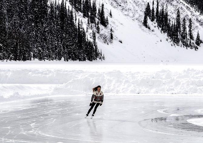 Come pattinare sul ghiaccio
