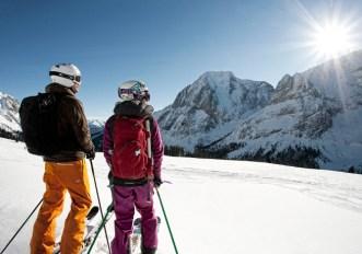sci safari nelle montagne del Tirolo