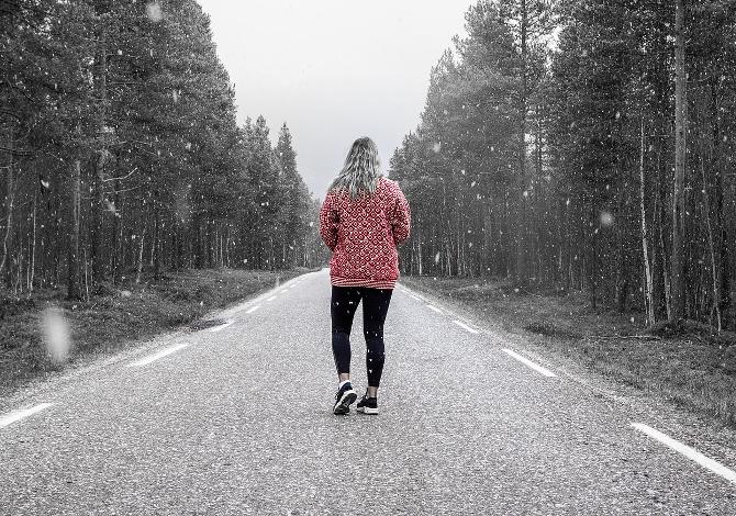 camminare al freddo senza ammalarsi
