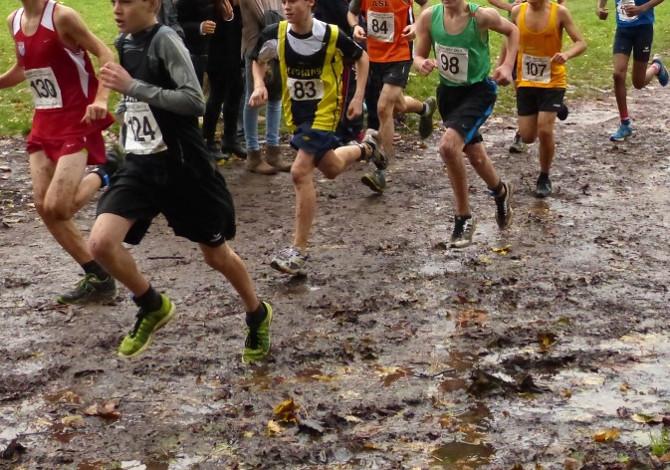 correre nel fango