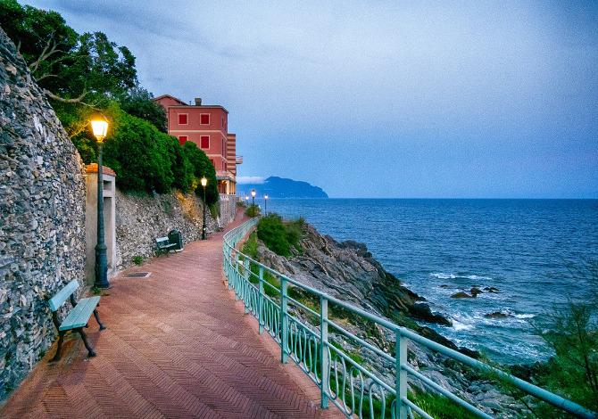 La Ciclovia Tirrenica tra Liguria, Toscana e Lazio
