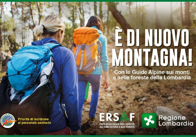 Estate 2020: oltre 40 escursioni gratuite con le Guide Alpine della Lombardia