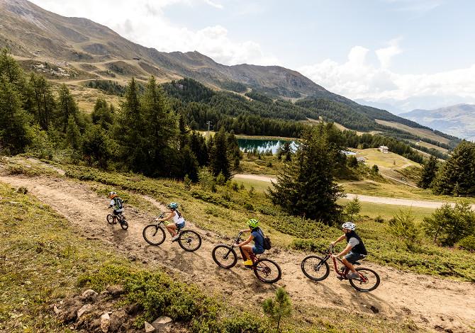Pila BikeLand: dal 13 giugno impianti aperti