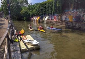 dove fare canoa sul naviglio martesana