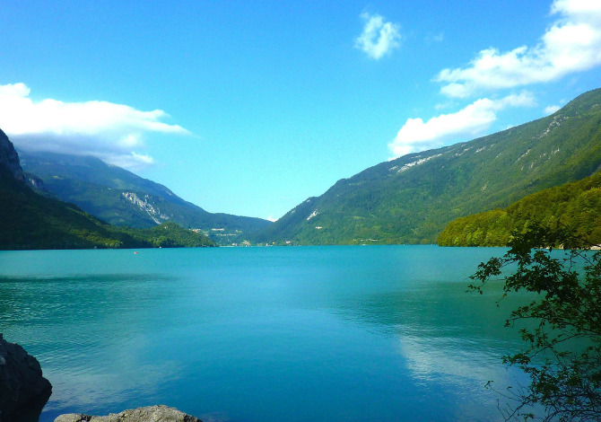 laghi dove fare il bagno in Trentino