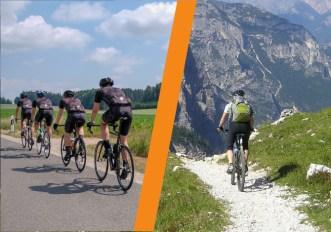 Mountain bike o bici da corsa