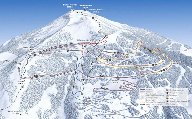 Dove sciare gratis: a Télégiettes, nel Vallese Svizzero-skimap