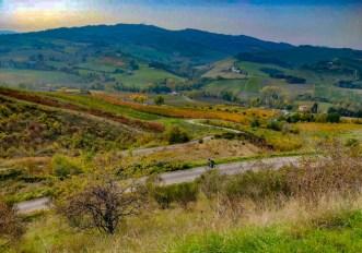In bici sull'Appennino Romagnolo