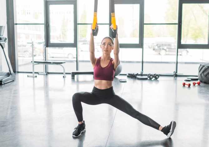 Esercizi TRX per le gambe