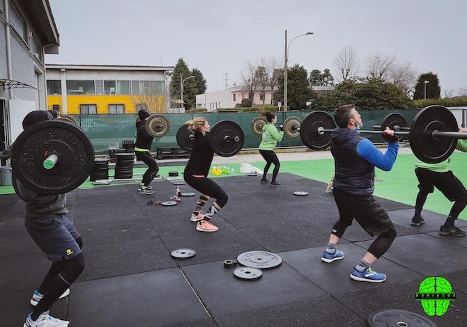 La palestra che riapre in Brianza con il CrossFit all'aperto