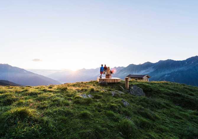 D'estate nella valle dello Stubai in Tirolo