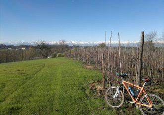 itinerario cicloturistico nel Roero