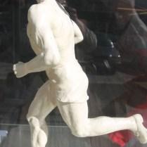 / 27.3.2017 / CR/ Praha / sport/ atletika/ Dana Zatopkova/ Slavnostni otevreni vystavy artefaktu atletu v Running Mall v Praze zahajila Dana Zatopkova. foto CPA