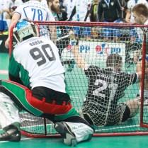 17.4.2017/ Praha/ sport/ Florbal / Superfinale /Mlada Boleslav/ Chodov / 3:1 vyhral Chodov Foto CPA
