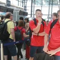 21.6.2017 Praha / sport / Atletika / Odlet Ceske vypravy na ME druzstev do Lille. FOTO CPA