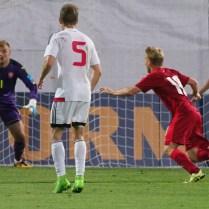 5.9.2017 Jablonec nad Nisou/ sport/ fotbal / reprezentace/ Kvalifikace na EURO 21/ Ceska republika Belorusko/ Foto CPA