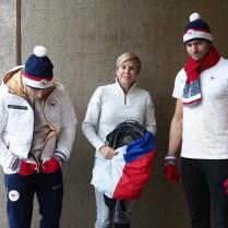 20.11.2017/ Praha / sport/ aktualita / ZOH / predstaveni olymijskehe kolekce obleceni ceske vypravy . FOTO CPA