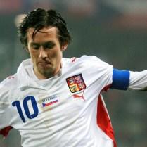 Rosický Česko Slovensko kvalifikace Euro 08 fotbal (5)