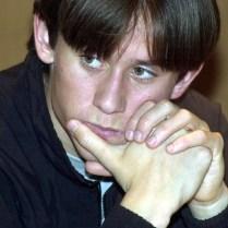 na snÌmku tiskov· konference p¯ed utk·nÌm nÏmeckÈ Bundesligy Borussia Dortmund : Energie Cottbus. - Tom·ö Rosick˝ kter˝ do utk·nÌ nenastoupil z d˘vody onemocnÏnÌ - (sport, fotbal, zahraniËÌ)/digital, Dortmund, NÏmecko, 28.1.2001