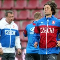 2.9.2014 Praha CR Trenink fotbalove reprezentace pred kvalifikaci na ME. FOTO CPA ERBEN