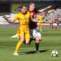 7.4.2018 Praha / sport / fotbal / AC Sparta / FK Dukla/ 3:0 FOTO CPA