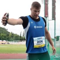 23.6.2018 Praha / sport / atletika / mistrovství České republiky juniorů a dorostu. FOTO CPA