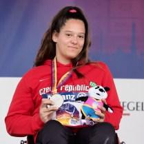 24.8.2018 /ME /atletika /Berlin /handicap / Mosovska Rozalie hod ostepem Foto CPA
