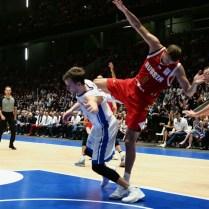 Česká republika Rusko kvalifikace na MS v Čině basketbal foto CPA