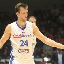 Česká republika Rusko kvalifikace na MS v Čině basketbal Jan Vesely foto CPA
