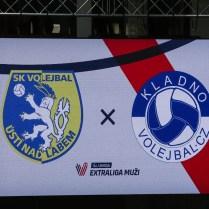 SKV Ústí nad Labem vs. Kladno 0:3 Uniqa Extraliga volejbalu
