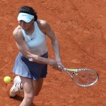 Tennis Tournament J&T Banka Prague open . Karolina Muchova /CZE/ VS Natalia Vikhlyatseva / RUS/