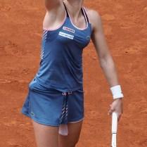 4.5.2019 Karolína Muchová premiérový titul na okruhu WTA nezískala. Česká tenistka podlehla ve finálové bitvě Švýcarce Jil Teichmannové po setech 6:7(5), 6:3, 4:6. Pro švýcarskou tenistku trénující ve Španělsku je to vůbec první titul na okruhu WTA. photo by CPA
