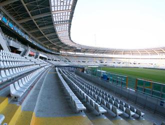 Lo stadio Olimpico