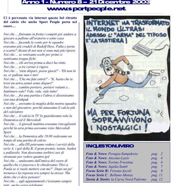 Copertina n° 2003-08