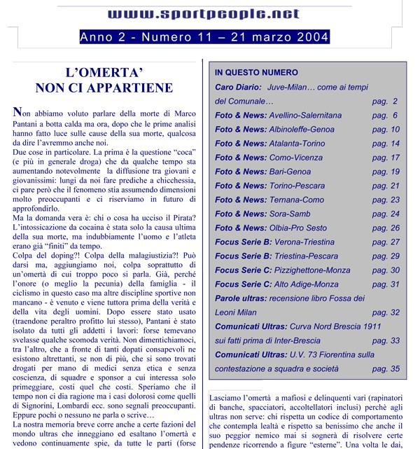 Copertina n° 2004-11