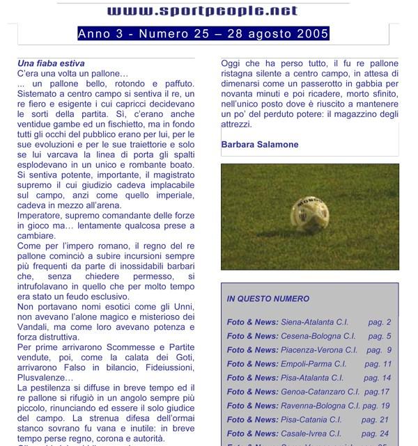 Copertina n° 2005-25
