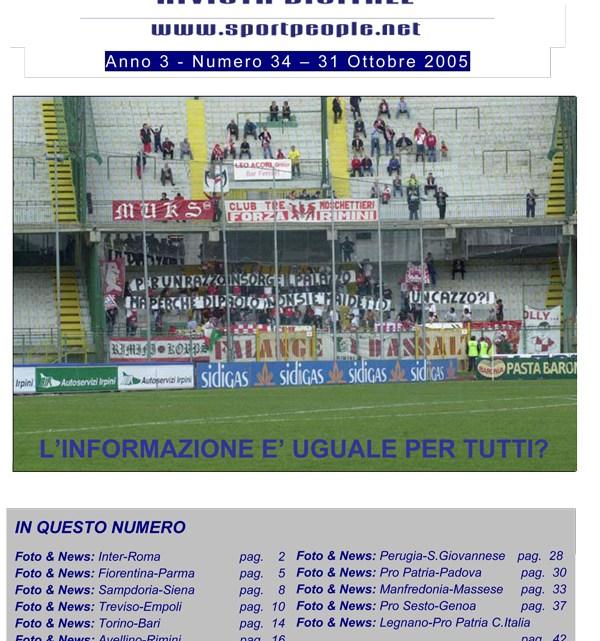 Copertina n° 2005-34