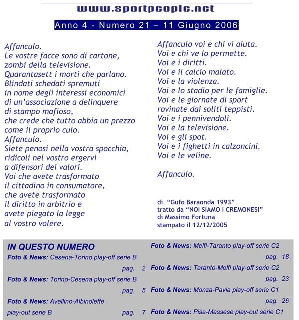 Copertina n° 2006-21