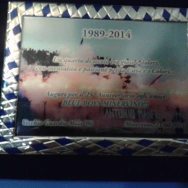 "25° anniversario ""Blue Boys"" Minervino"