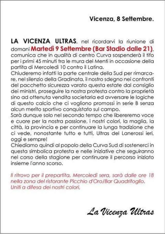 La Vicenza Ultras