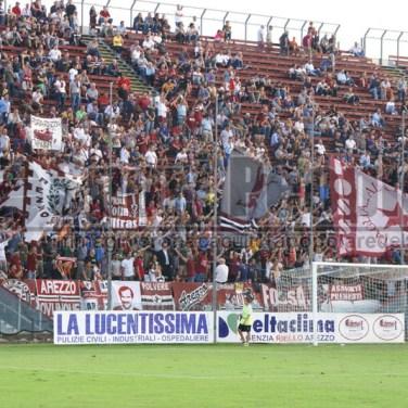 Arezzo-Lumezzane 2-0, Lega Pro 2014/15