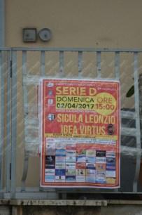 Igea Virtus-Sicula Leonzio 02-04-2017 Serie D Girone I