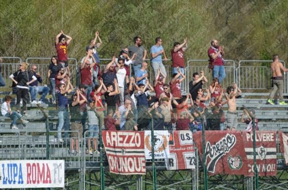 Lupa Roma-Arezzo 13-04-2017 Lega Pro Girone A