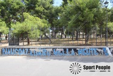 La passione per la Fidelis sui muri della città