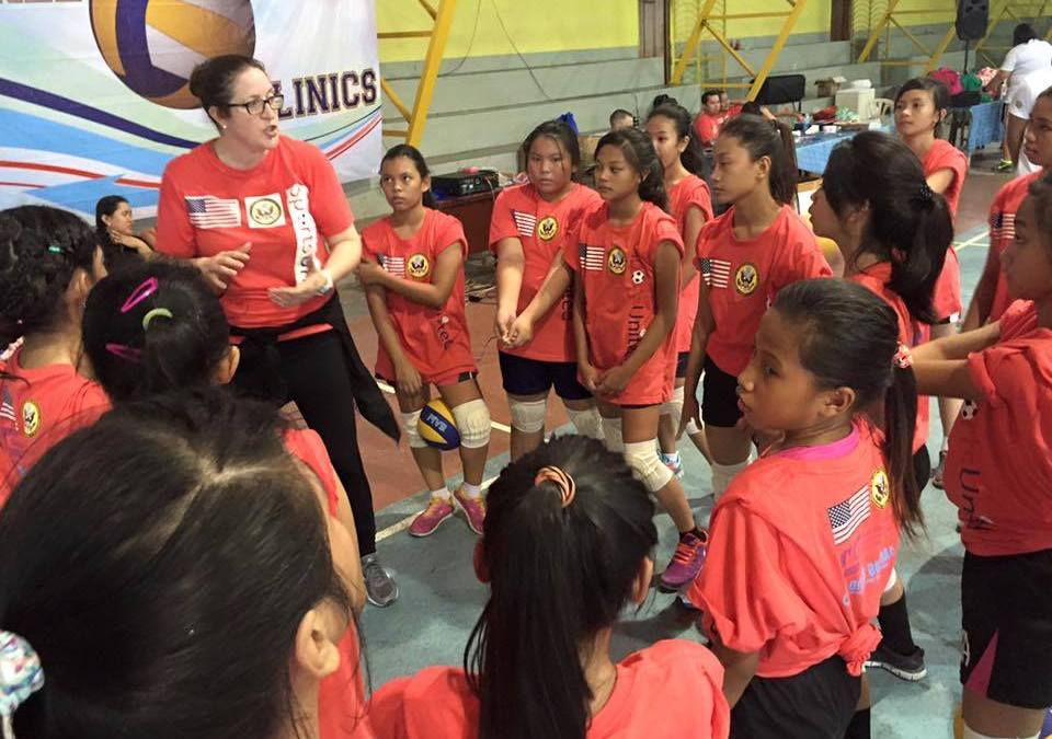 U.S. Sports Envoy Program: Free Volleyball Clinics for Filipino Students