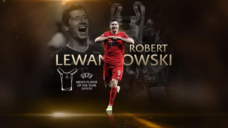 Lewandowski miglior attaccante
